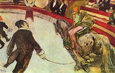 Au cirque Fernando (1888). Henri de Toulouse-Lautrec