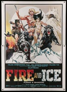That time Frazetta and Bakshi collaborated on a movie (1983)