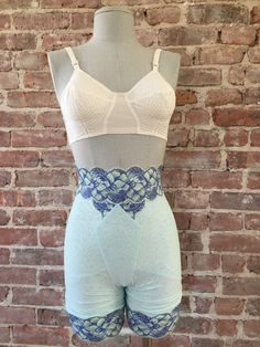 cb00e300fa0 Vintage Girdle Panties with Garters - Medium Support - Pinup Girl - VLV -  Bombshell - Vintage Shapewear