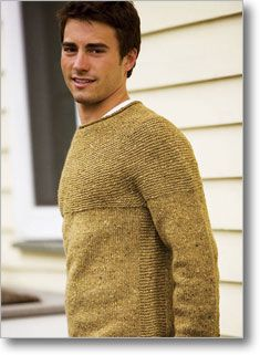 Wish List - A Dublin inspired rustic men's sweater, this pullover is easy to wear.