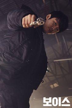 Voice Kdrama, Korean Male Actors, Jang Hyuk, Web Series, Busan, Korean Drama, The Voice, Rapper, Movie Posters