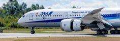 """All Nippon Airways heeft de levering van haar 50ste Boeing 787 bekendgemaakt. Het is deeerste vervoerder om dit te doen. De 787-9, die met een kleine """"ANA 50 787"""" sticker op de voorste romp is voorzien, werd overhandigd tijdens een ceremonie in Everett Delivery Center van Boeing op 17 augustus 2016. """"De 787 Dreamliner heeft … """"ANA neemt levering van 50ste Boeing787"""" verder lezen"""