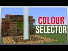 Minecraft 1.10: Redstone Tutorial - Beacon Colour Selector! - YouTube