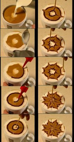 Great ways to make authentic Italian coffee and understand the Italian culture of espresso cappuccino and more! Cappuccino Art, Coffee Latte Art, Coffee Barista, Espresso Coffee, Coffee Cafe, Best Coffee, Coffee Drinks, Coffee Shop, Coffee Syrups