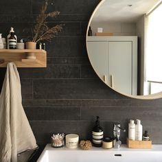 Bathroom Black Walls Kitchens Ideas For 2019 Shiplap Bathroom Wall, Boho Bathroom, Bathroom Wall Decor, Bathroom Interior Design, Small Bathroom, Bathroom Lighting, Bathroom Grey, Modern Bathroom, Houzz Bathroom