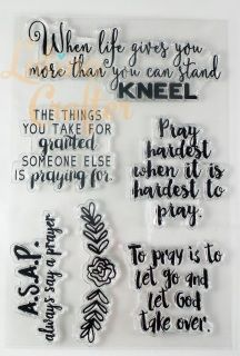 I love, love so much this set!! There are times that we feel overwhelmed but forget to put our trust in HIM, to come to HIM in prayer, HE will do what need to be done, if we have FAITH!!  