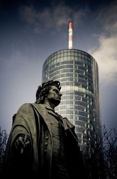 Schiller`s Maintower, #Frankfurt