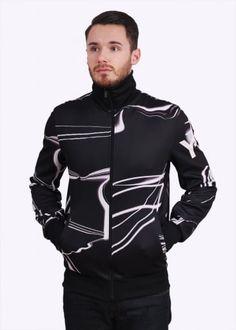 60181dfa1 Y3   Adidas - Yohji Yamamoto CL Track Top - Black   Multi Y3 Clothing