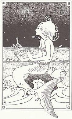 Set of 5 Vintage Illustrated Children's Fairy by vintagegoodness