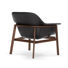SEDAN Lounger by Neri&Hu for ClassiCon, 2013 - chair, walnut, leather black