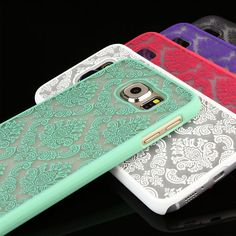Vintage Damask Pattern Skin Hard Case Cover for Samsung Galaxy Edge + Cute Cases, Cute Phone Cases, Iphone 6 Cases, Samsung Cases, Samsung Galaxy S6, Phone Accesories, Smartphone, Ebay, Damask