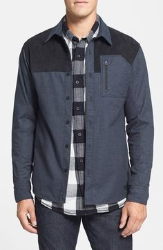 Nordstrom Burton 'Tabon' DRYRIDE Flannel Shirt available at #Nordstrom
