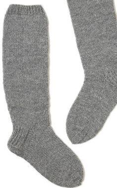Neulotut pitkävartiset sukat 7 veljeksestä