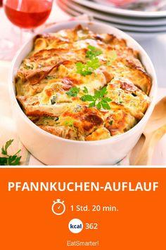Pfannkuchen-Auflauf - smarter - Kalorien: 362 kcal - Zeit: 1 Std. 20 Min. | eatsmarter.de