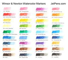 Winsor & Newton Watercolor Marker - Cadmium Orange Hue - WINSOR & NEWTON 0201090
