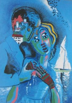 Idylle, 1924-27. Francis Picabia  Art Experience NYC  www.artexperiencenyc.com