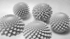 Fibonacci sculptures by edmark