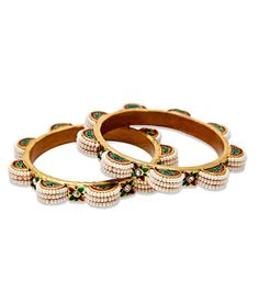 Artan Exclusive Pair of Pearl Adorned Bangles, http://www.snapdeal.com/product/artan-exclusive-pair-of-pearl/639372