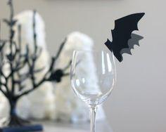 Декор коктейля на Хеллоуин