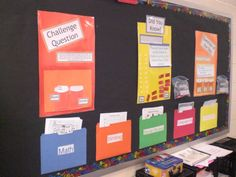 I LOVE interactive bulletin boards!  And in the classroom would be good for students who finish work early or a center