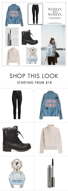 """""""lp2*"""" by cano315 ❤ liked on Polyvore featuring H&M, Steve Madden, Vanessa Seward, Balmain, Marc Jacobs, MAC Cosmetics, lovelypepa, outfitoftheday, polyvorecommunity and polyvoreeditorial"""