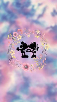 Wallpaper Do Mickey Mouse, Disney Phone Wallpaper, Cellphone Wallpaper, Cartoon Wallpaper, Iphone Wallpaper, Cute Wallpaper Backgrounds, Love Wallpaper, Screen Wallpaper, Cute Wallpapers