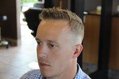 Men's fade hair