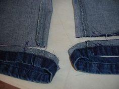 Agulha de Ouro Ateliê: ✂Como trocar zíper de calça jeans