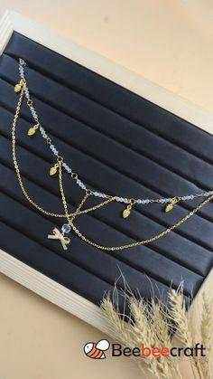 Wire Jewelry Designs, Handmade Wire Jewelry, Diy Crafts Jewelry, Bijoux Wire Wrap, Bijoux Diy, Diy Bracelets Patterns, Jewelry Patterns, Stylish Jewelry, Cute Jewelry