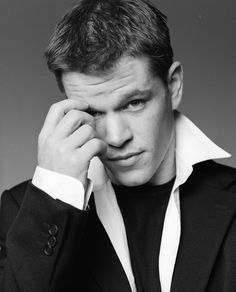 MATT DAMON! obsessed. ♥
