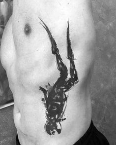 60 Diver Tattoo Designs For Men - Underwater Ink Ideas- 60 Diver Tattoo Designs For Men – Underwater Ink Ideas Rib Cage Side Watercolor Diver Male Tattoo Designs - Mens Side Tattoos, Rib Tattoos For Guys, Hai Tattoos, Dove Tattoos, Tattoos Pics, Tatoos, Ocean Sleeve Tattoos, Ocean Tattoos, Nautical Tattoos
