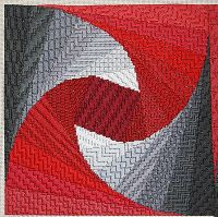LIZART NEEDLEPOINT, experimenting with textures with Twister