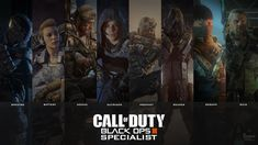 Call of Duty Black Ops 3 - All Specialists