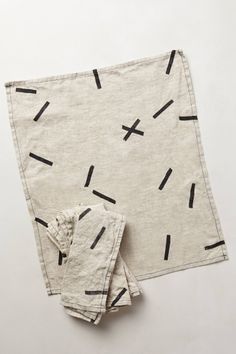 Dashes Napkin Set - anthropologie.com