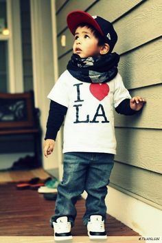 I love LA too, cute little hipster kid.