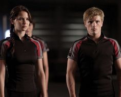 Hunger Games Katniss | The Hunger Games Movie Peeta and Katniss
