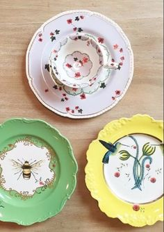 Nature Table Dessert Plate  | Pinned by topista.com