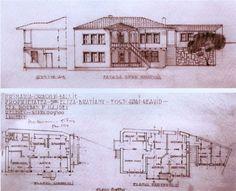 Henrieta Delavrancea Gibory Modernism, Architects, Floor Plans, Modern Architecture, Building Homes, Floor Plan Drawing, Contemporary Architecture, House Floor Plans, Architecture