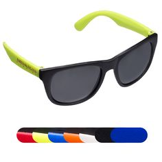 PL-5022  Matte Finish Fashion Sunglasses.  Polypropylene sunglasses with polycarbonate lenses. 100% UV protection.  One size fits all