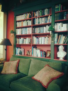 Lovely space to curl up with one of thrse books