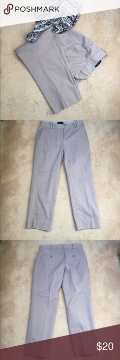 Talbots's Taupe color pants Beautiful taupe colored pants. Great color any time of the year! Talbots Pants Ankle & Cropped