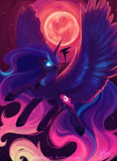Drawfriend Stuff - BEST Drawings of Luna! Mlp My Little Pony, My Little Pony Friendship, My Little Pony Drawing, Nightmare Moon, Mlp Fan Art, My Little Pony Pictures, My Little Pony Merchandise, Mlp Pony, Unicorn Art