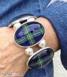 #tartan #bracelet #браслет #шотландка #шотландскаяклетка #тартан