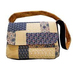 Juberry Fabrics Messenger Bag Fabric Kit Including Pattern-883275 Art And Hobby, Messenger Bag, Craft Supplies, Sewing Patterns, Satchel, Fabrics, Kit, Creative, Crafts