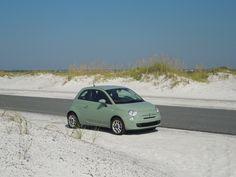Sophia ist mit einem Fiat 500 durch Florida gefahren –ein überraschender Glücksgriff.