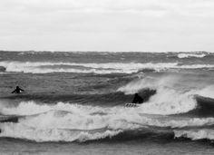 Bradford Beach, Milwaukee Wi Lake Michigan, Wisconsin, Milwaukee Lakefront, Bradford, Green Bay, Surfing, Youth, Waves, Beach