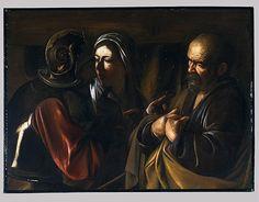 Caravaggio (Michelangelo Merisi). The Denial of Saint Peter (1997.167) | Heilbrunn Timeline of Art History | The Metropolitan Museum of Art