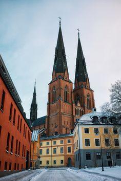 Fotografía Uppsala in Winter por James Losey en Carl Sagan, Kingdom Of Sweden, Visit Sweden, Uppsala, Lappland, Europe, Places Ive Been, The Good Place, Scenery