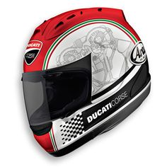 Arai Ducati helmet