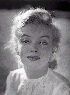 1951 - A naturally gorgeous and radiant Marilyn by JR Eyerman